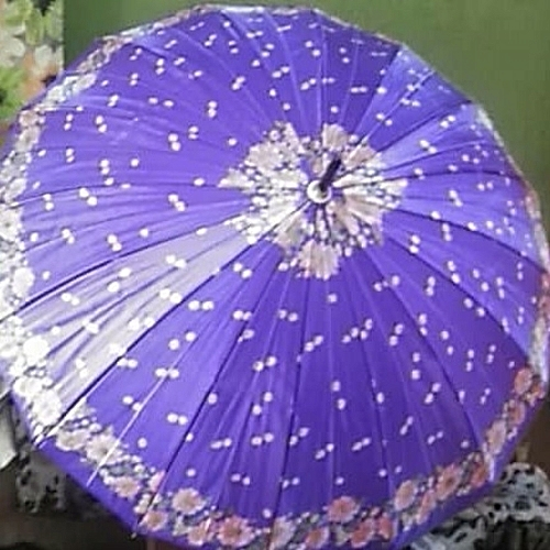 Purple Colour Beautiful Stylish All Purpose Unmbrella