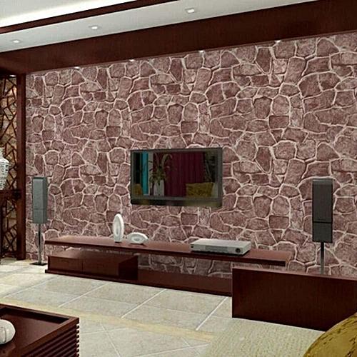 Benhongszy 100*45cm Vinyl Self-adhesive Wallpaper Rolls Modern Wall Papers Home Decor Living Room Bedroom Wallcoverings 3D Wall Murals