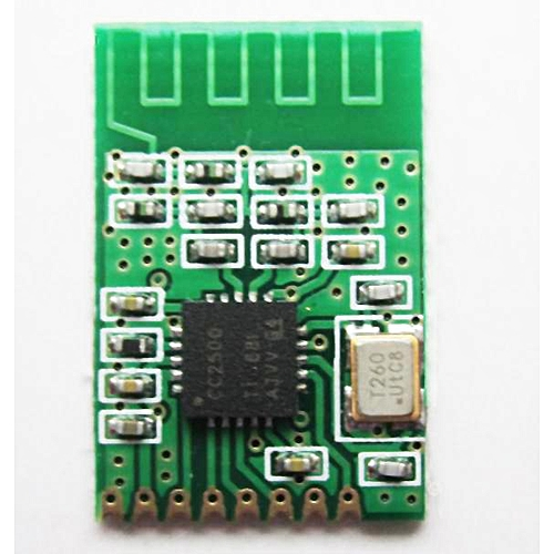 CC2500 Wireless Module 2.4G Small Volume Low Power Consumption For Electronics Development Remote-control 1.8-3.6v
