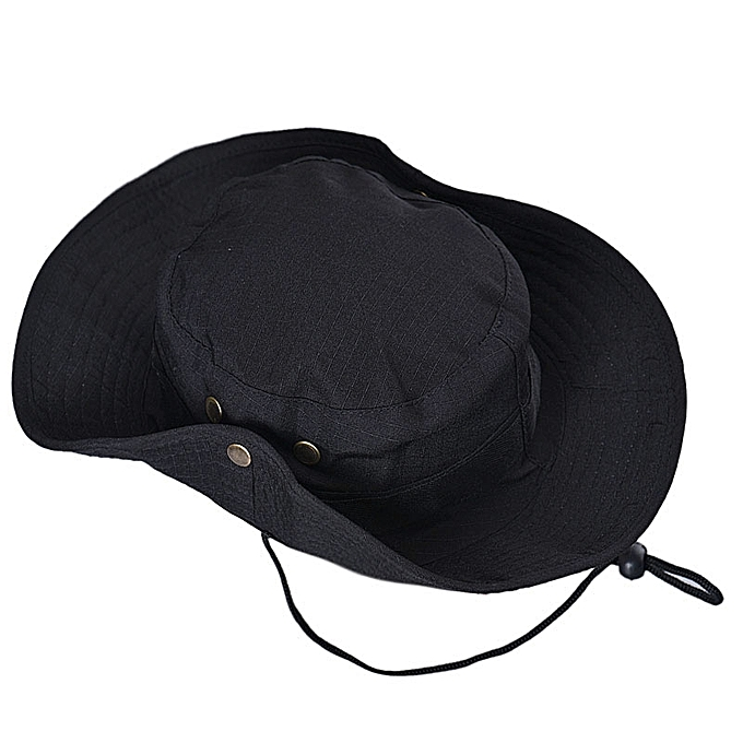 08b22ea984c ... Bucket Hat Boonie Hunting Fishing Outdoor Wide Cap Brim Military BK ...