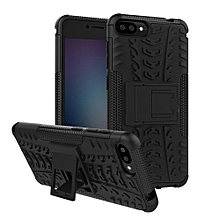 For Zenfone4 Max 5.2 ZC520KL Case, 3 In 1 Tyre Grain Cobwebs Shock-proof Throw-proof Housing With Foldable Stand Holder TPU + PC Back Cover Case For ASUS ZenFone 4 Max (ZC520KL)
