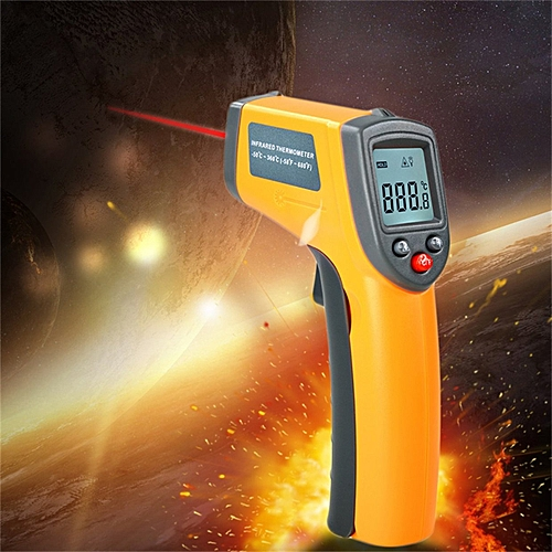 Laser LCD Digital IR Infrared Thermometer Temperature Meter Non Contact Sensor