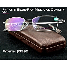 79a6512086e9 2018 Men Medical Class Qualification Anti Blue Ray Computer Radiation  Protection Reading Glasses +3.25 (