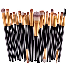 20pcs/set Makeup Brush Set Tools Make-up Toiletry Kit Wool Make Up Brush