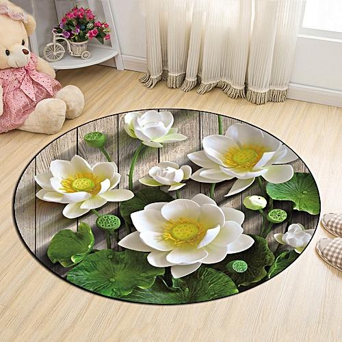 Buy generic floor mat pastorable style lifelike lotus flowers floor mat pastorable style lifelike lotus flowers pattern door mat colormix mightylinksfo