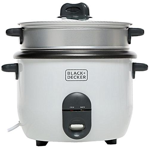 1.8 Liter Non Stick Rice Cooker - White, RC1860-B5