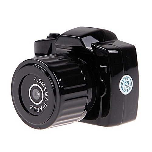 New 720P HD High Definition Mini DV Recorder CamcorderCameraBlackY3000
