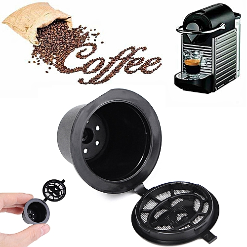 1pc Refillable Coffee Capsule Cup Reusable Refilling Filter For Nespresso Machine