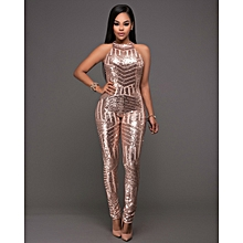 2d620f6f6270 Women  039 s Sexy Jumpsuits Shiny Slim Floor Length Backless Package Hip  Skirt Sleeveless