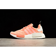 the latest ad22e 785a3 NMD R1 Shoes Men Woen  039 s Sport Fashion Running Shoes Sneakers-PINK  BY3034