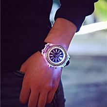 9a66d8276 New Geneva LED Backlight Sport Waterproof Quartz Wrist Watch