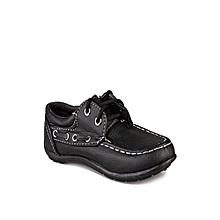 Every Male Child Casual Shoe - Black