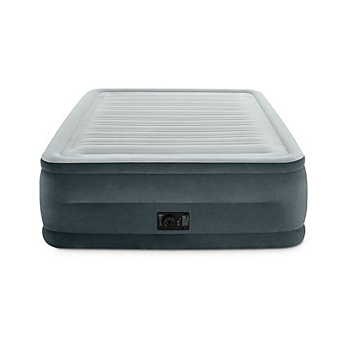 Comfort Plush Elevated Dura-Beam Airbed With Built-in Electric Pump