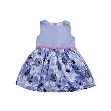 3d041f52e3 Pretty Baby Flowery Dress - Blue