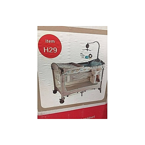 Baby Cot Trend Playard With Mosquito Net