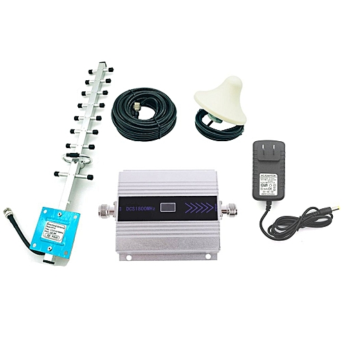 4G 1800MHz LTE DCS Mobile Signal Booster GSM Repeater LTE Amplifier US