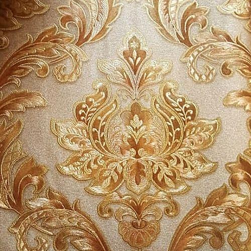 Wao Wallpapers Sensational 3D Design Wall Paper Gold