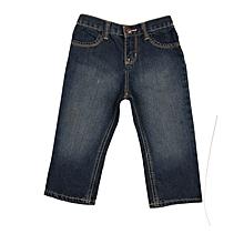 3c8913167b Girls Boot Cut Jeans Trouser - Denim - Blue