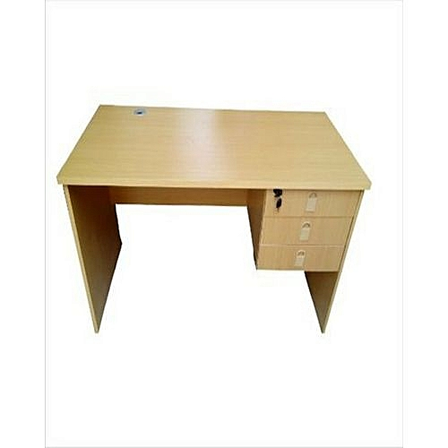 4 Feet Wooden Office Table - Lagos Orders Only