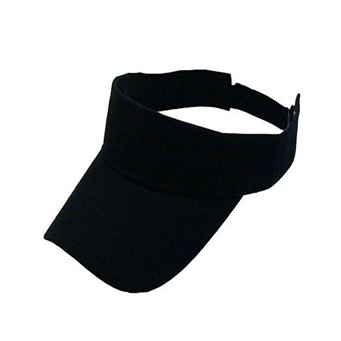 Fashion BLACK VISOR CAP -TRENDY-  dacd5331975