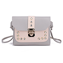 a1340219f1d03 Women  039 s Contrast Shoulder Bag Messenger ...