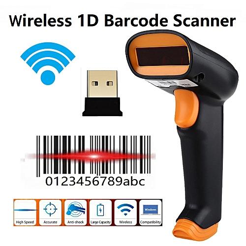 Netum S2 Wireless 1D Barcode Scanner Nteumm Cordless 1D Bar Code Reader