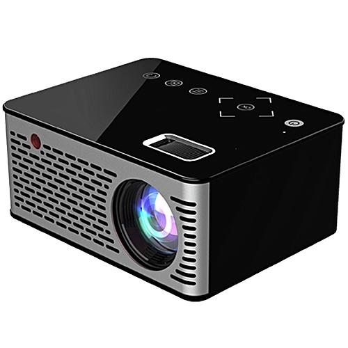 T200 LCD Home Theater Projector 320 X 240P USB / TF / HDMI / AV-BLACK