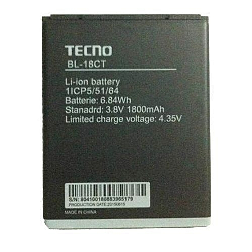 Tecno Y3, Y4, R5 Phone Battery