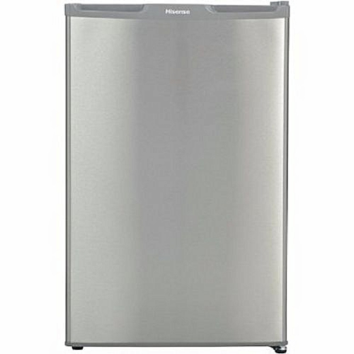 Single Door Fridge - 100L - REF100DR ,No Frost , Low Noise, Environment-Friendly Tech , Silver