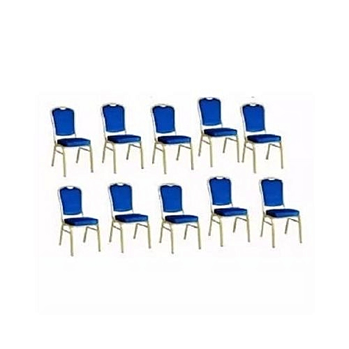 Diamond Banquet Chairs - 10 Pieces[Delivered To Customers In Lagos, Agbara, Anambra And Asaba]