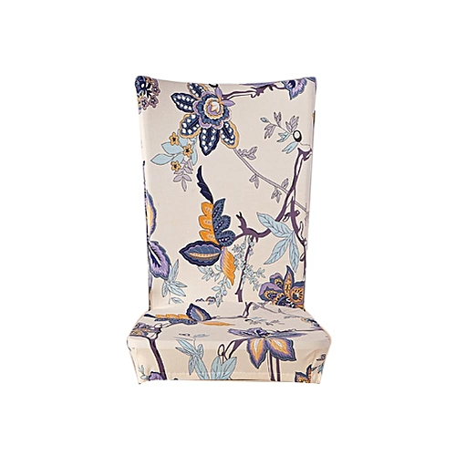 Hot Sale Fashion Assorted Patterns Household Antifouling Removable Stretch Elastic Slipcovers Short Dining Room Stool Chair Seat Covers H06