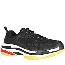 6071633793489a New. Triple S Chunky Sneakers - Black