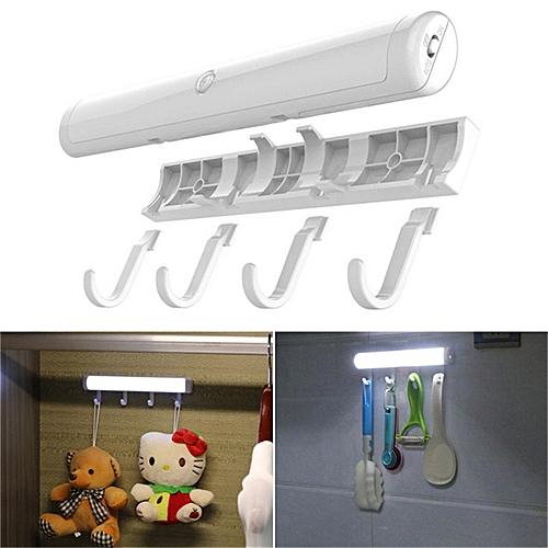 Fashion Smart LED Strip Human Induction Lamp Kitchen Bathroom Hook Light