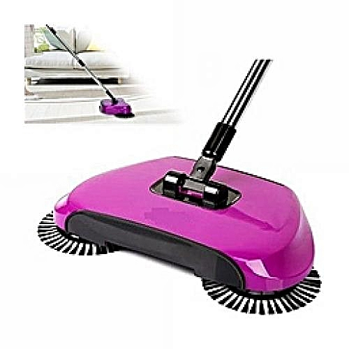 Magic Sweeper/Dual Rotor Spin Broom Sweeper