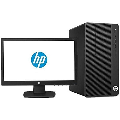 290 G2 Microtower PC Dual-Core 500GB HDD/4GB RAM + Mouse Pad (FREEDOS) + 18.5'' Monitor