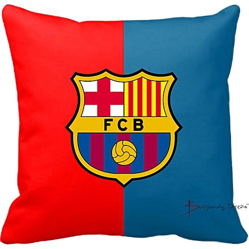 Club Football Throw Pillow (FC Barcelona)