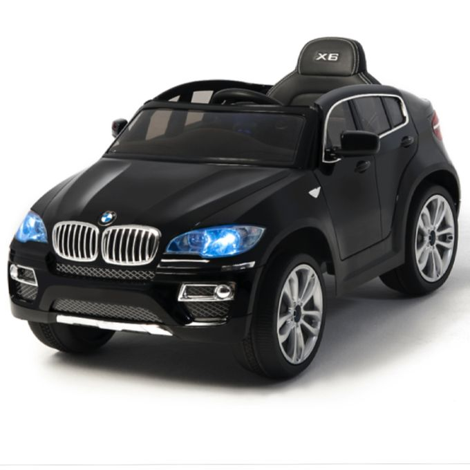 BMW X6 Ride On + Remote - Black