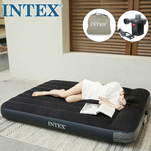 Inflatable Air Bed With Pump ( Durabeam Standard)