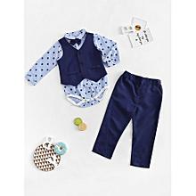914e9b004077 Buy SHEIN Baby Boy s Clothing Set Online
