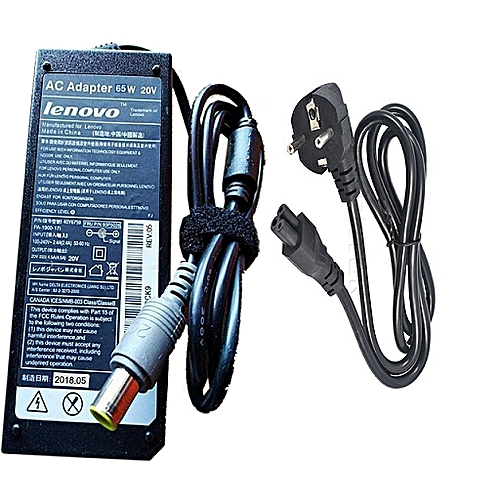 Lenovo 20V Round Mouth Laptop Charger
