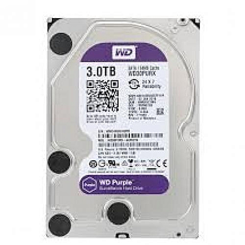 3TB Surveillance Harddrive 3.0 Speed Purple WD