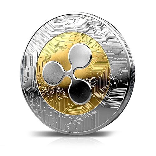 Ripple Wave Collection Commemorative Coin Mechanical Pattern