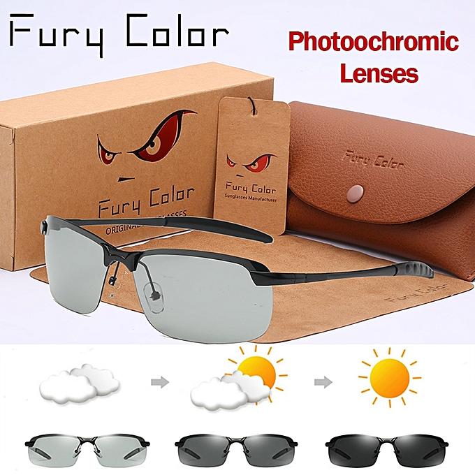 f328c845871 Hot Photochromic Glasses Chameleon Polarized Sunglasse Men Women All Day  Change Color For Snow Light Rays