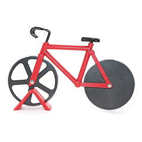Bicycle Shape Pizza Cutter(Red)