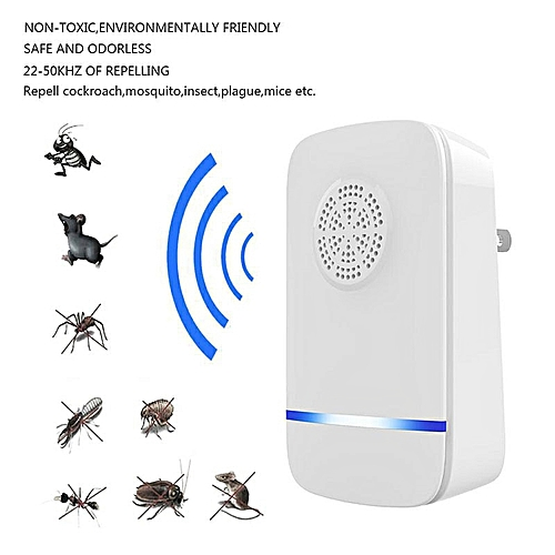 Electric Ulatrosonic Mouse Repellent Fly Bug Mosquito Killer Bat Cockroach Trap Insect Repellent Silent Pest Control LALANO