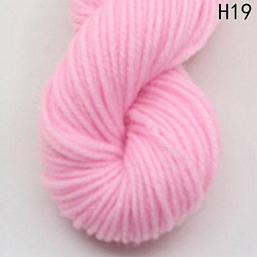 Eleganya High Quality Hook Shoes Dedicated Pure Color Knit Cotton Yarn H19
