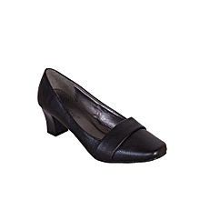 1933d4f9716b Ladies Mid Heel Corporate Shoe - Black