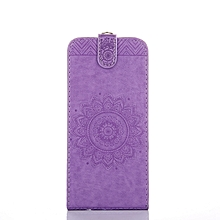 Sony Xperia Z3 Compact - D5803 - D5833 - Light Purple - Mobile Phone Case, Mandala Embossed Holster, Hand Strap, Bracket, Clamshell Cover for sale  Nigeria