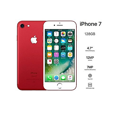 IPhone 7-4 7 Inch Smartphone 2GB+128GB 12MP Finger Sensor 4G LTE (gift)  HD-Red