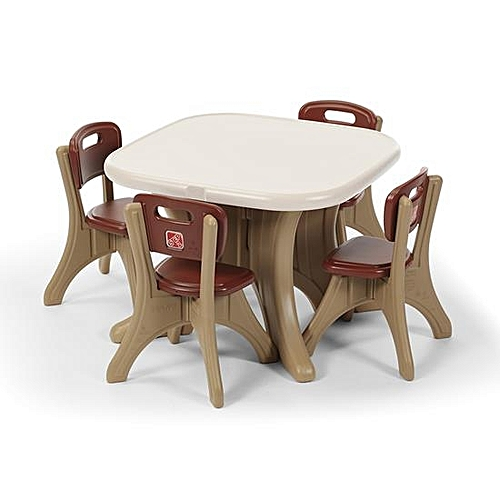 New Traditions Table And 4 Chairs Set